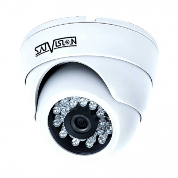 Купольная внутренняя камера Satvision SVC-D892 v2.0 2Мп 2.8мм OSD/UTC