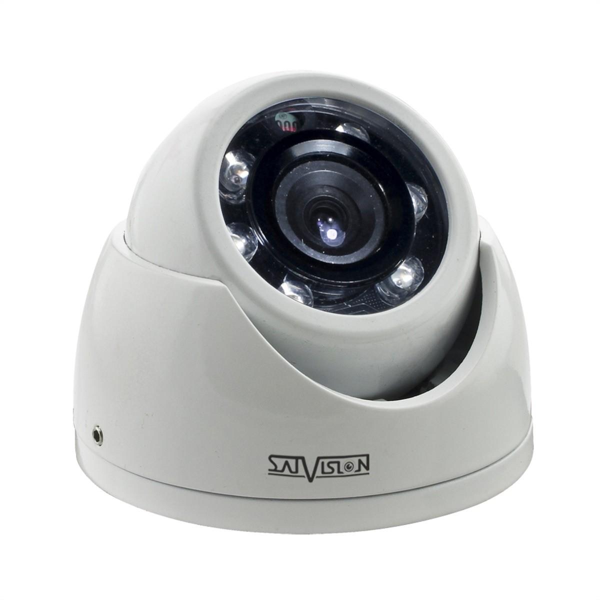 Купольная антивандальная камера Satvision SVC-D792 v3.0 2Мп 2.8мм UTC