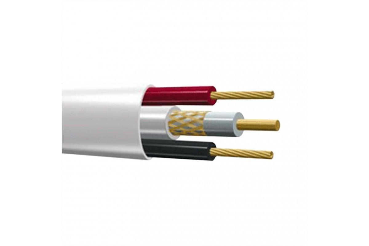 Кабель КВК-В 2х0.5мм (12V), Plexus, (100м.) NEW