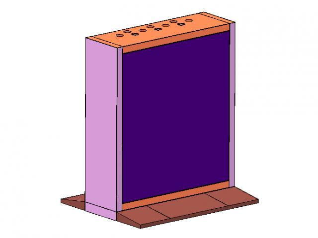 Модульное основание для видеостены Hikvision DS-DN46E3M/B