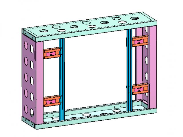 Модульный кронштейн для видеостены Hikvision DS-DN46C2M/F